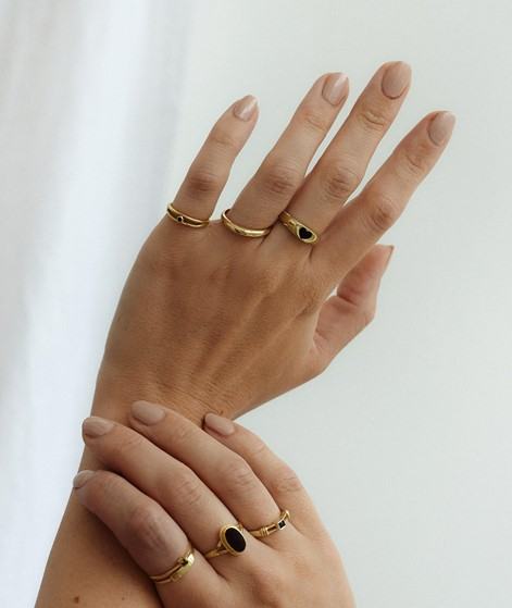 FLAWED Infinite Love Ring gold