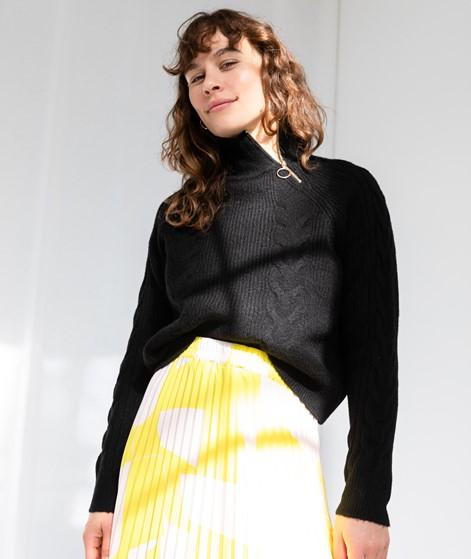 VILA VIFlinka Knit Pullover schwarz