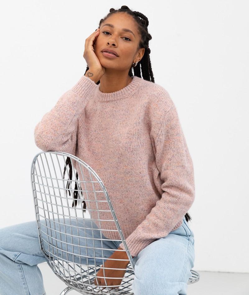 KAUF DICH GLÜCKLICH Pullover rosa