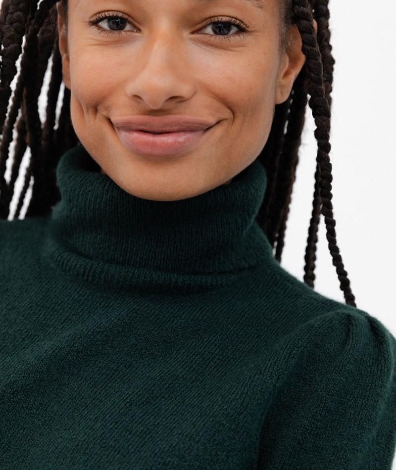 VILA VIEshy Pullover grün