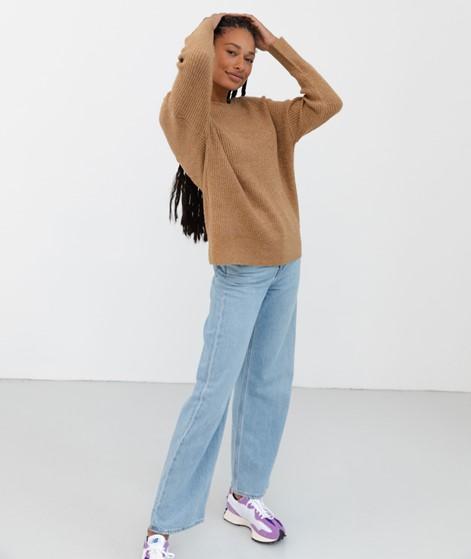 VILA VIJilly Glitter Pullover braun