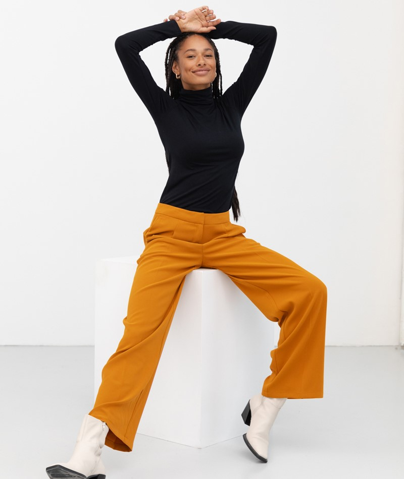 SELECTED FEMME SLFTinni Hose orange