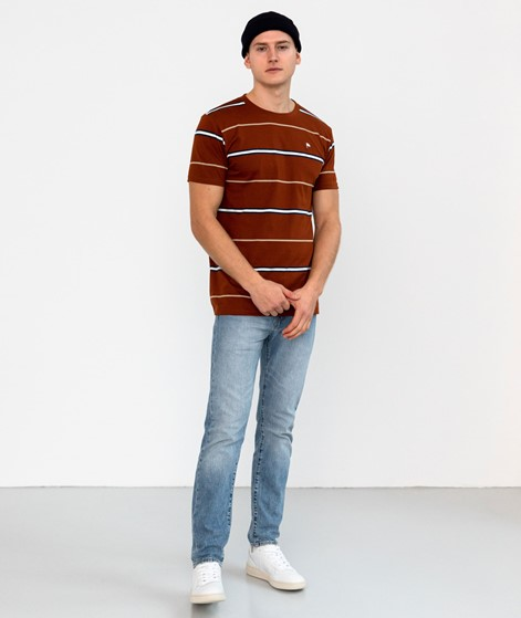 WEMOTO Warren T-Shirt gestreift