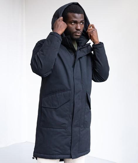 MINIMUM Virkedal Mantel schwarz