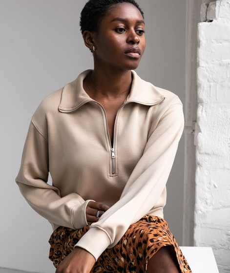 MOSS COPENHAGEN Ima Sweater beige