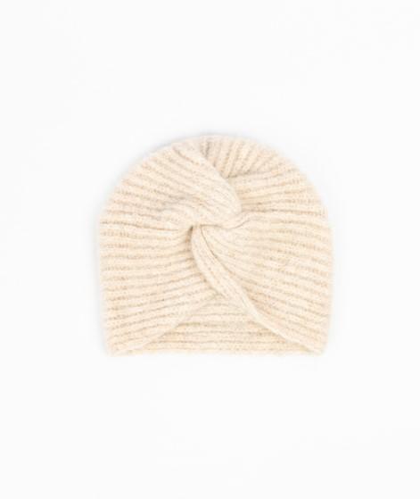 VILA VIAsta Knit Turban Mütze creme