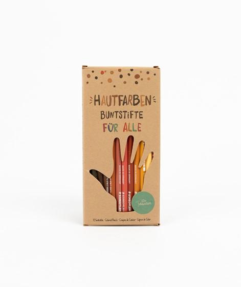 HAUTFARBEN BUNTSTIFTE 12 Buntstifte