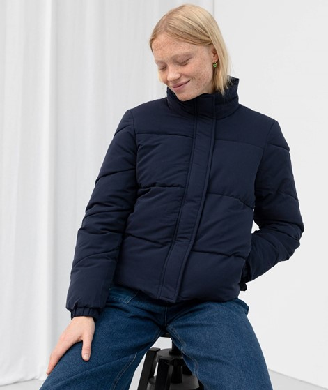 ANOTHER LABEL Mille Puffer Jacke blau