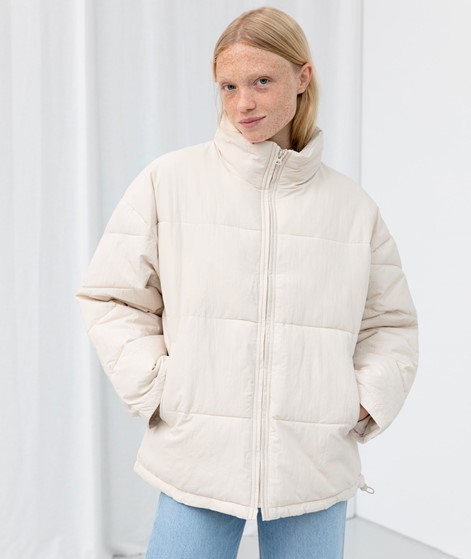 ANOTHER LABEL Mille Oversized Jacke weiß