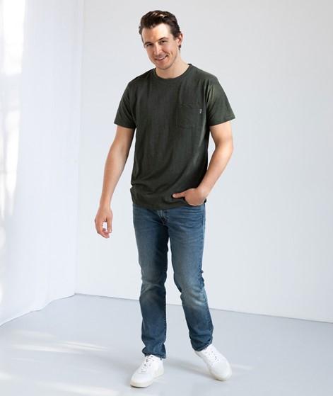 WEMOTO Blanke T-Shirt grün